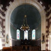L'abside vue vers l'est (2016)