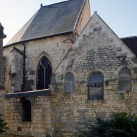 Vue partielle de l'église depuis le nord (2016)