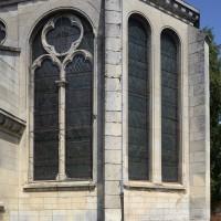 Vue partielle de l'abside depuis le sud-est (2016)