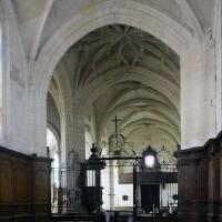 L'intérieur de l'église vu vers l'ouest (2016)