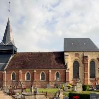 L'église vue du sud (2016)