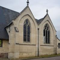 Les chapelles sud vues du sud-ouest (2016)