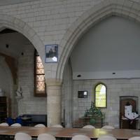 Les arcades du mur gouttereau sud de la nef (2016)