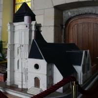 Maquette de l'église (2016)