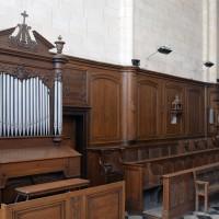 L'orgue de choeur et les boiseries du choeur (2016)