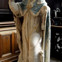 Statue de saint Médard (2016)