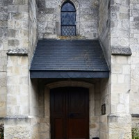 La partie centrale de la façade vue de l'ouest (2016)