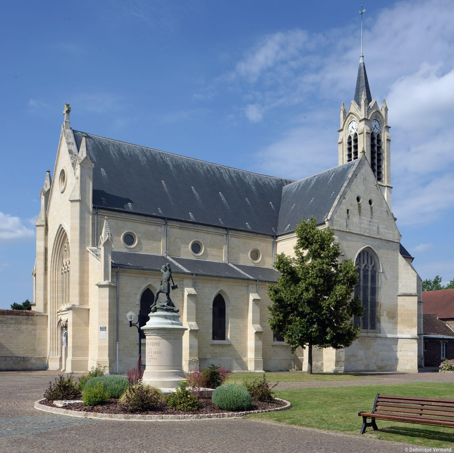 Longueil Sainte Marie église Saint Martin Eglises De L Oise