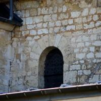 Fenêtre du mur nord-est de la seconde travée du choeur (2016)