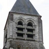 Le clocher vu du nord (2016)