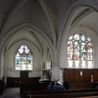Vue partielle du transept et du choeur vers le nord (2016)