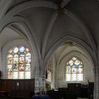 Vue partielle du transept et du choeur vers le sud (2016)