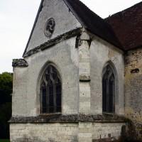 Le bras nord du transept vu du nord-ouest (2016)