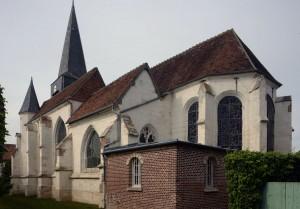 L'église vue du sud-est (2016)