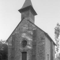 La chapelle vue de l'ouest (1996)