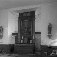 L'intérieur vu vers le nord-est (1996)