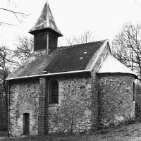 La chapelle vue du sud-est (1979)