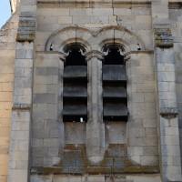 L'étage du beffroi du clocher vu du nord (2018)