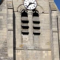 L'étage du beffroi du clocher vu du sud (2018)