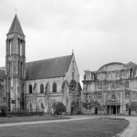 L'abbaye vue du nord-ouest (2001)