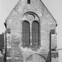 La façade ouest de la chapelle (1974)
