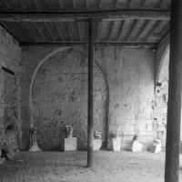 La partie basse de la chapelle vue vers l'ouest (1994)