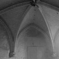 La voûte de la chapelle vue vers le nord (1994)