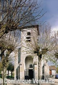 L'église vue de l'ouest (2001)