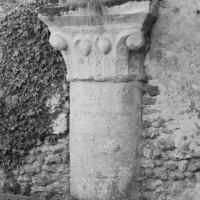La pile circulaire de l'arcade sud de la première travée de la nef (1996)