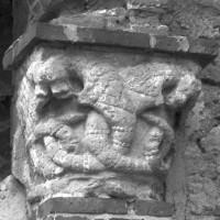 Le chapiteau de droite du portail (1996)