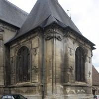 La chapelle nord vue du nord-est (2017)