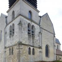 Le clocher vu du nord-est (2018)