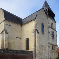 Les parties orientales de l'église vues du sud-est (2018)