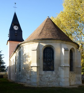 Le chevet de l'église (2018)