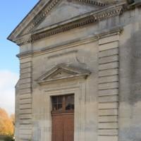 La façade ouest, datée 1787 (2018)