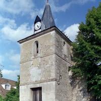 Le clocher porche vu du sud-ouest (2001)